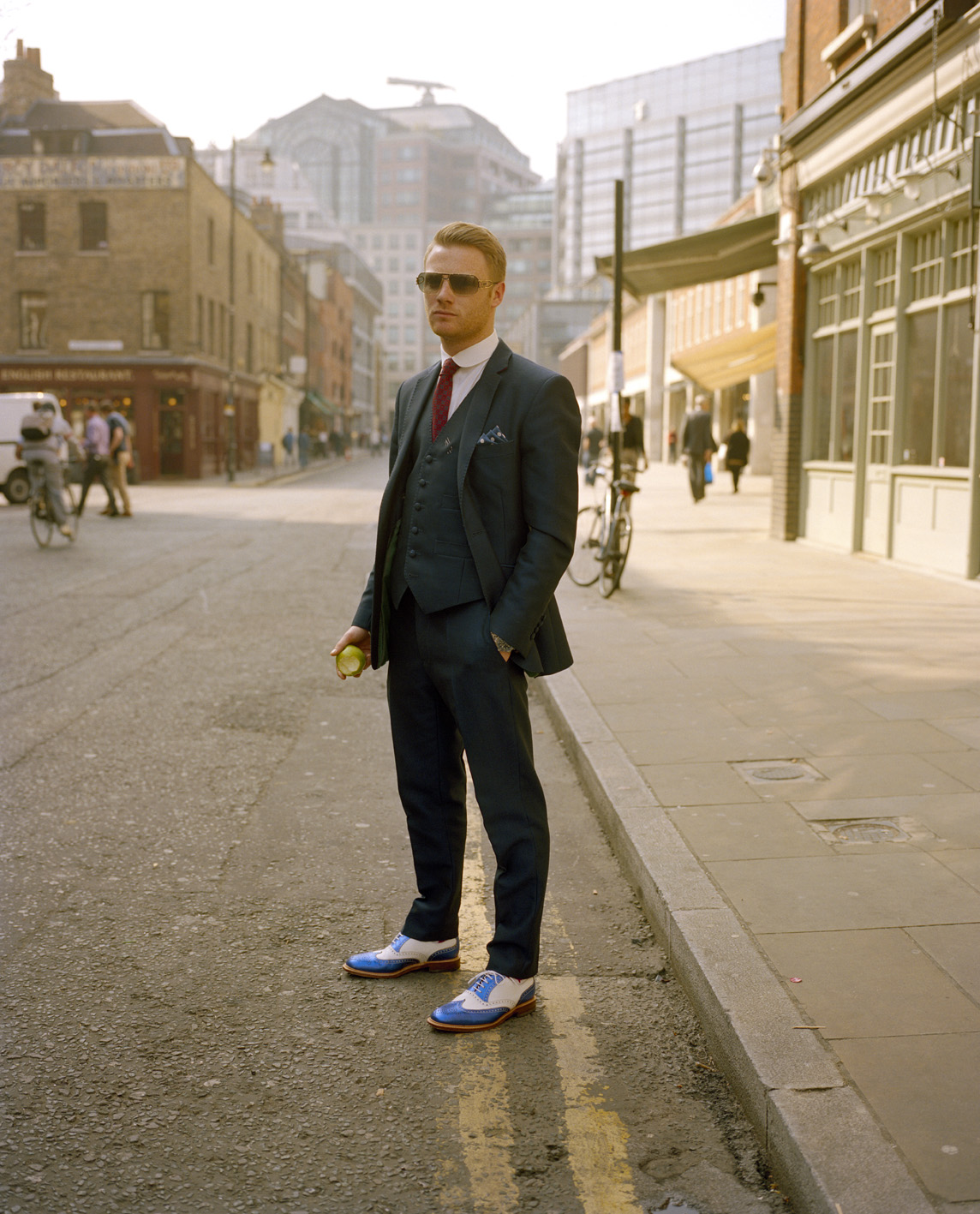 Brushfield Street, London - April 2012