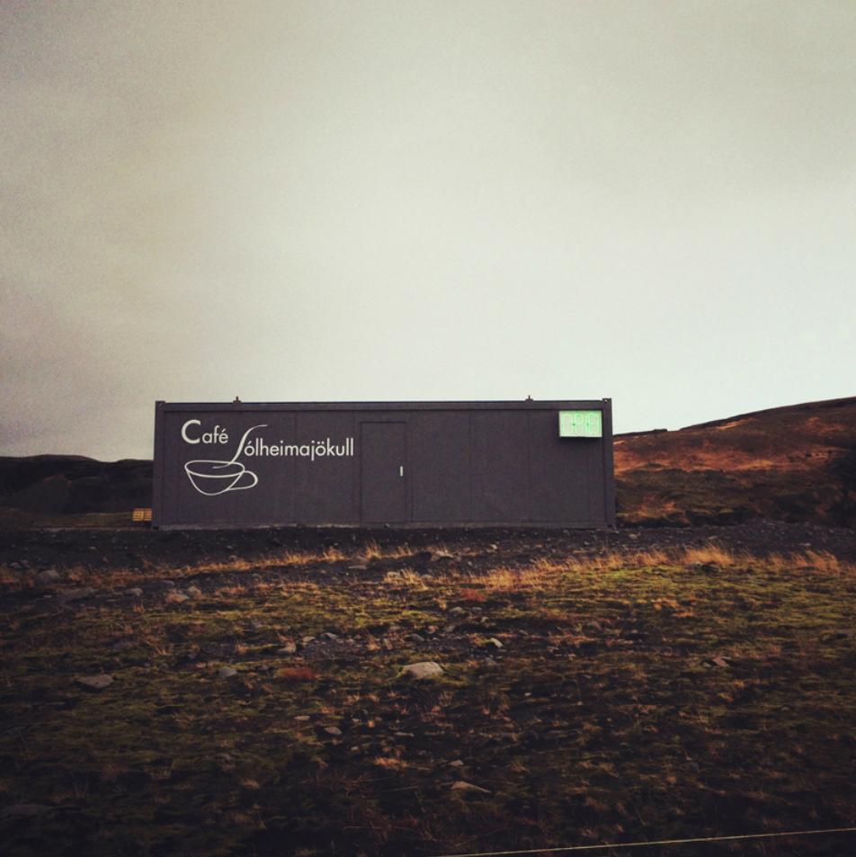 Cafe Solheimajokull, Iceland