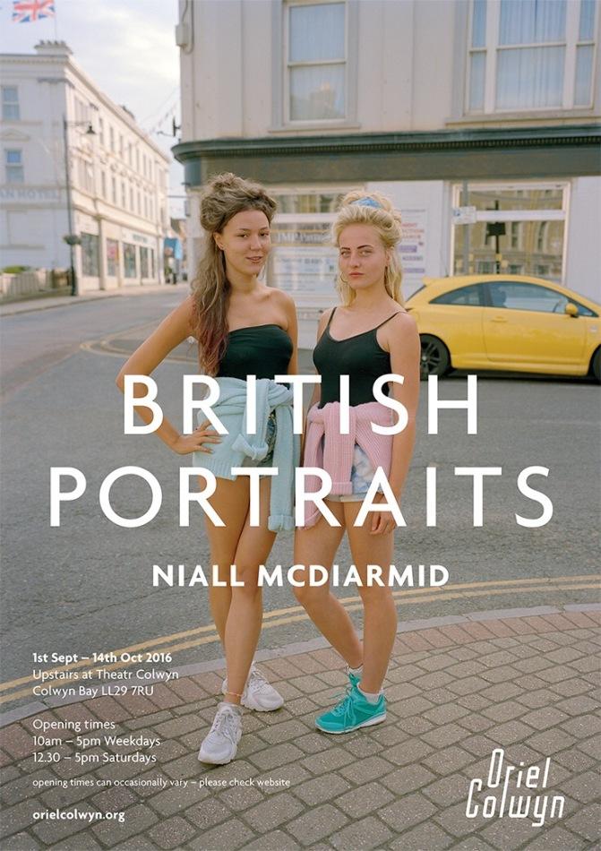 Niall McDiarmid – British Portraits Exhibition – Oriel Colwyn, North Wales