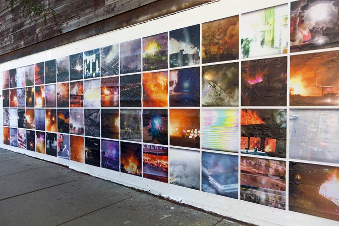 #Mass_Observation – Photo Installation at Filter Space Gallery