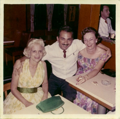 Julios House aboard the SS Florida with Tourists 1958