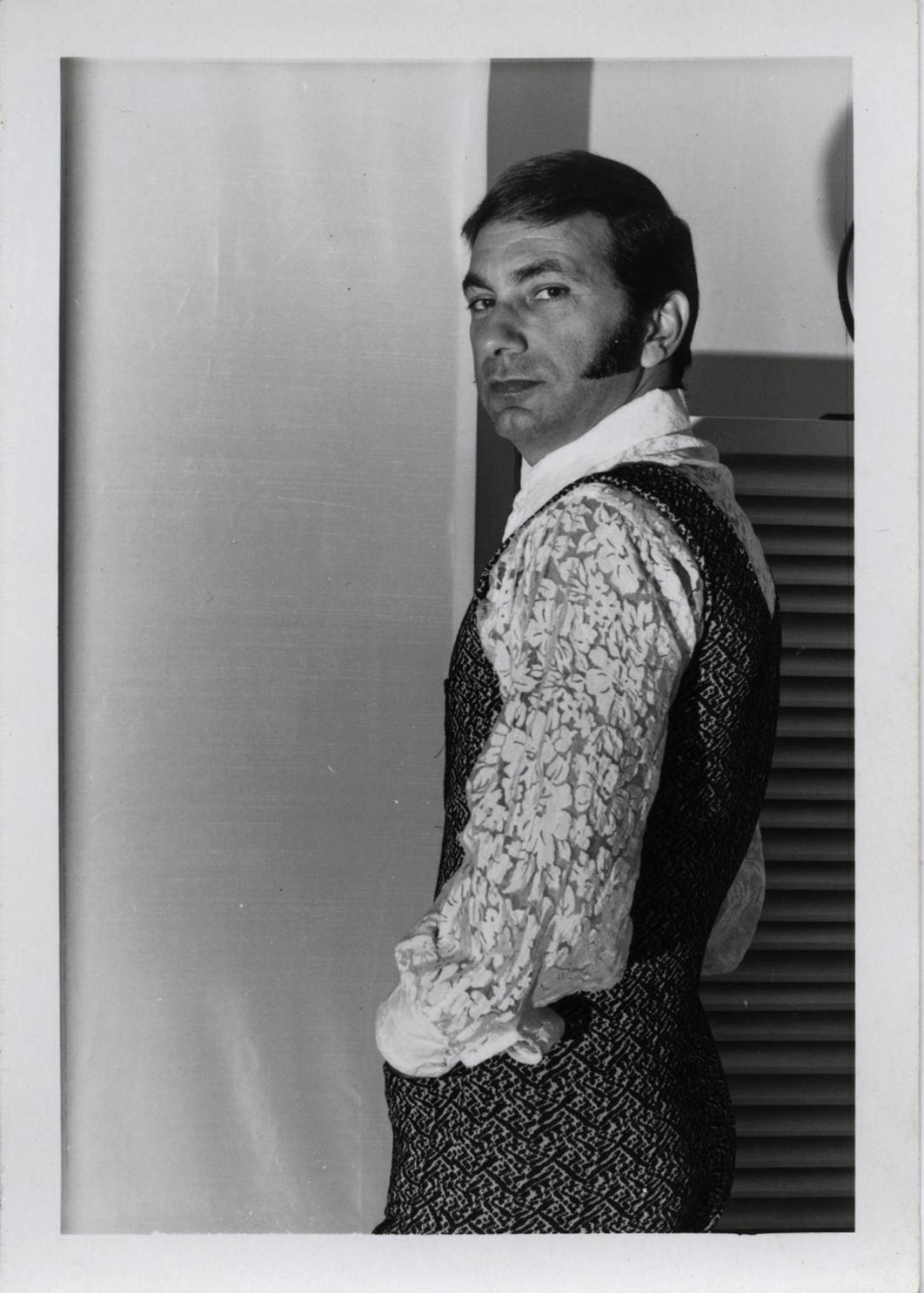 Julios House Studio portrait 1971